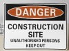Safety Sign- Construction Site
