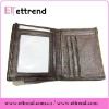 2012 Popular high-end genuine leather men's wallet