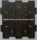 simple design metal clock for wall
