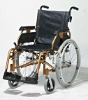 Seat depth adjustable aluminum wheelchair