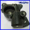 aluminum investment casting part with black anodized