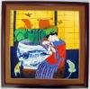 Chinese modern painting, chinese women painting, chinese girl painting