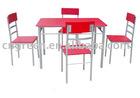 Modern Red color Dining set