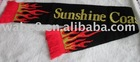 Acrylic Jacquard football fan scarf. promotion gift soccer fan scarf