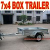 7 x 4 Galvanized Car Trailer