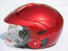 unqueOpen Face Motorcycle Helmet with Cap