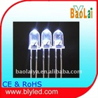 3mm white led emitting diode