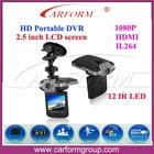 HD 1080P car black box driver recorder