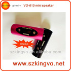 VO-610 mp3 speaker with fm mini music box