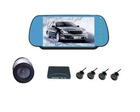 Car Rear View Parking System - Camera, Color Monitor and Sensors