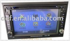 7inch touch screen 2din car dvd with GPS,bluetooth,radio,Ipod and TV