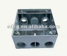oem foundry sand casting die casting water drain box aluminium box