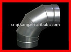 Galvanised Elbow- 90 degree adjustable elbow
