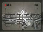 Factory Price HINO auto oil cooler EF750