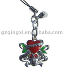 cell phone straps/mobile phone charm/mobile phone pendant