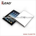 Crystal case for iPad2/iPad3, PC Material