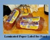 Food label paper