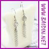 2012 popular diamante earrings for women wholesale