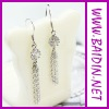 2012 popular diamante earrings for women wholesale