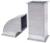 Galvanized steel plate air duct