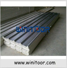 Metal or magnesium oxide super insulation roofing tile