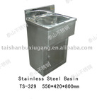 304 or 316L Stainless Steel Sink