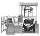 vacuum emulsifying and heating machine for cosmetic process