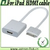 2012 HOT Cable HDMI Cable For iPad,iPad2, iPhone 4s