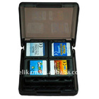 16 in 1 Black Game card box for NDS Lite , NDSi, NDS LL , NDS XL