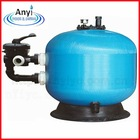 Pool side-mount sand filter,blue sand filter