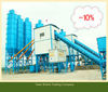 HZS120 low cost concrete mixing/batching plant