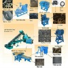 tire granulator machinery waste tyre recycling machine