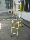 new material multi-purpose fiber glass ladder with 150kg load