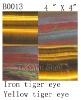 Natural stone Iron tiger eye and yellow tiger eye tile