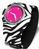 Silicone Slap Watches with fashion printed straps