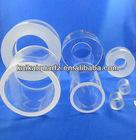 thick wall clear quartz tube