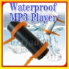IPX8 Waterproof MP3 Player 4GB for Water sports FM Radio