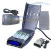the newest battery charger of intelligent charger with LCD display