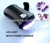 dynamo flashlight and universal mobile charger
