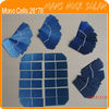 High Efficiency 0.375W Small Mono Solar Cells 26*78mm