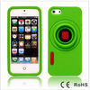 Factory design green protective silicone case for phone