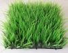 artificial plastic boxwood mat long wild grass mat