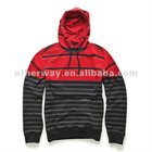 fashion full zip men's sweat shirt