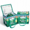 Insulated PP woven promotional beer/can cooler bag