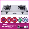 stainless steel with glass gas or electric stove