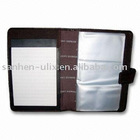Multifunctional Name Card Holder, Made of Genuine Leather