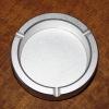 Round aluminum alloy metal ashtray