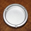 Round aluminum alloy metal ashtray