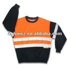 Hivis contrast panel polar fleece