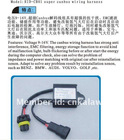 One PC HID warning canceller capacitor/canbus wiring harness/HID lamp ballast decode device hot